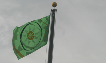Oecs_raised_flag