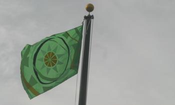 Oecs_raised_flag